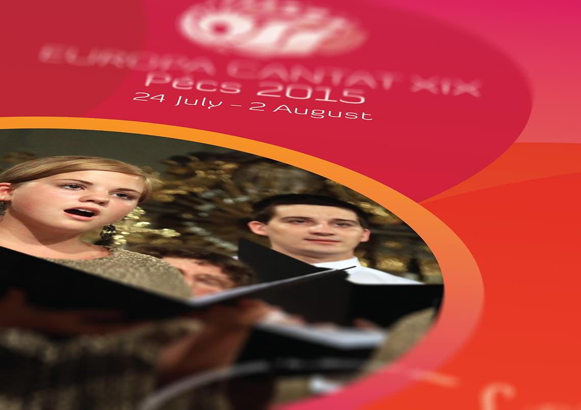 Rollup tervezés - Europa Cantat 2015 Pécs