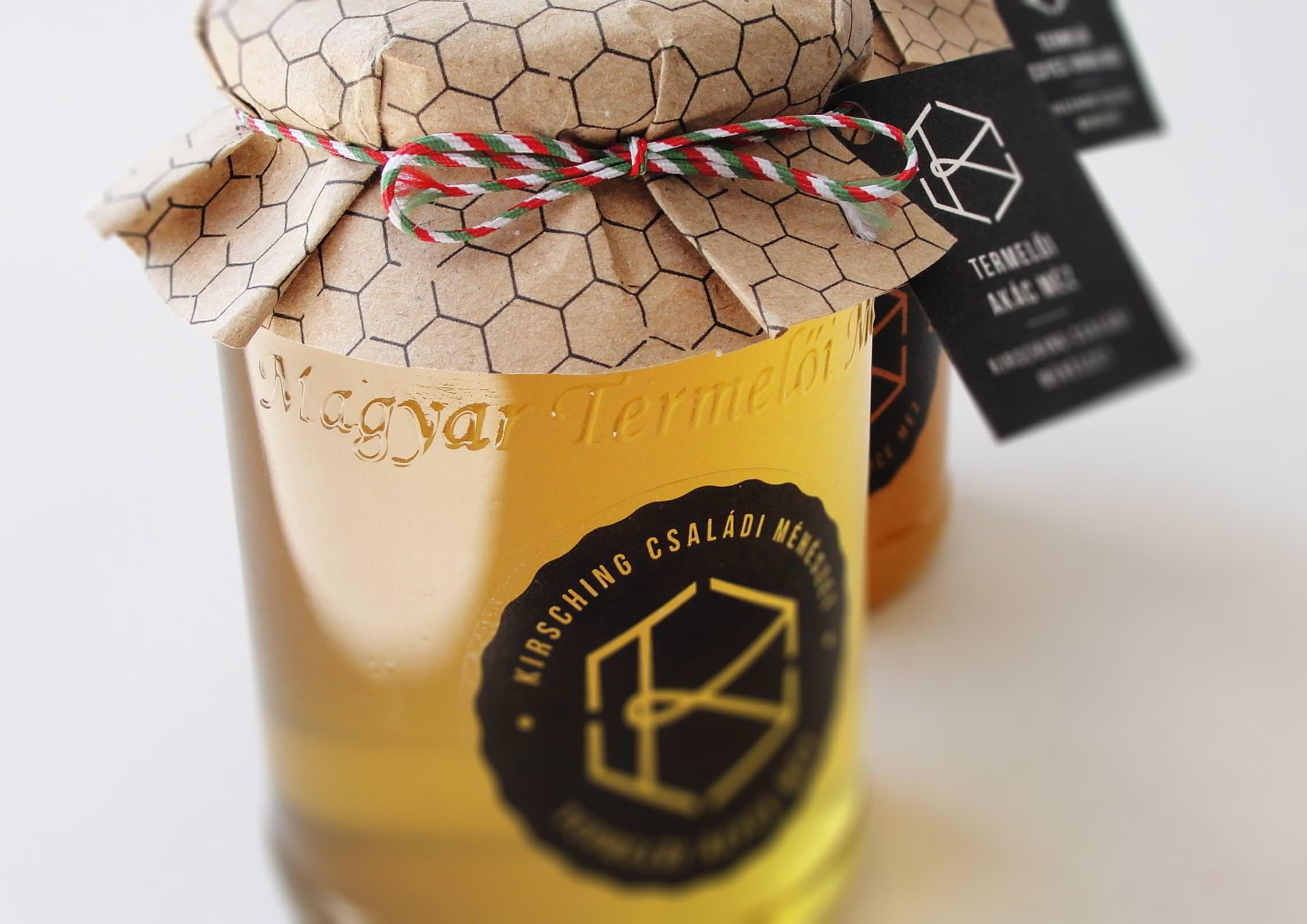 Csomagolástervezés - Kirsching Méhészet