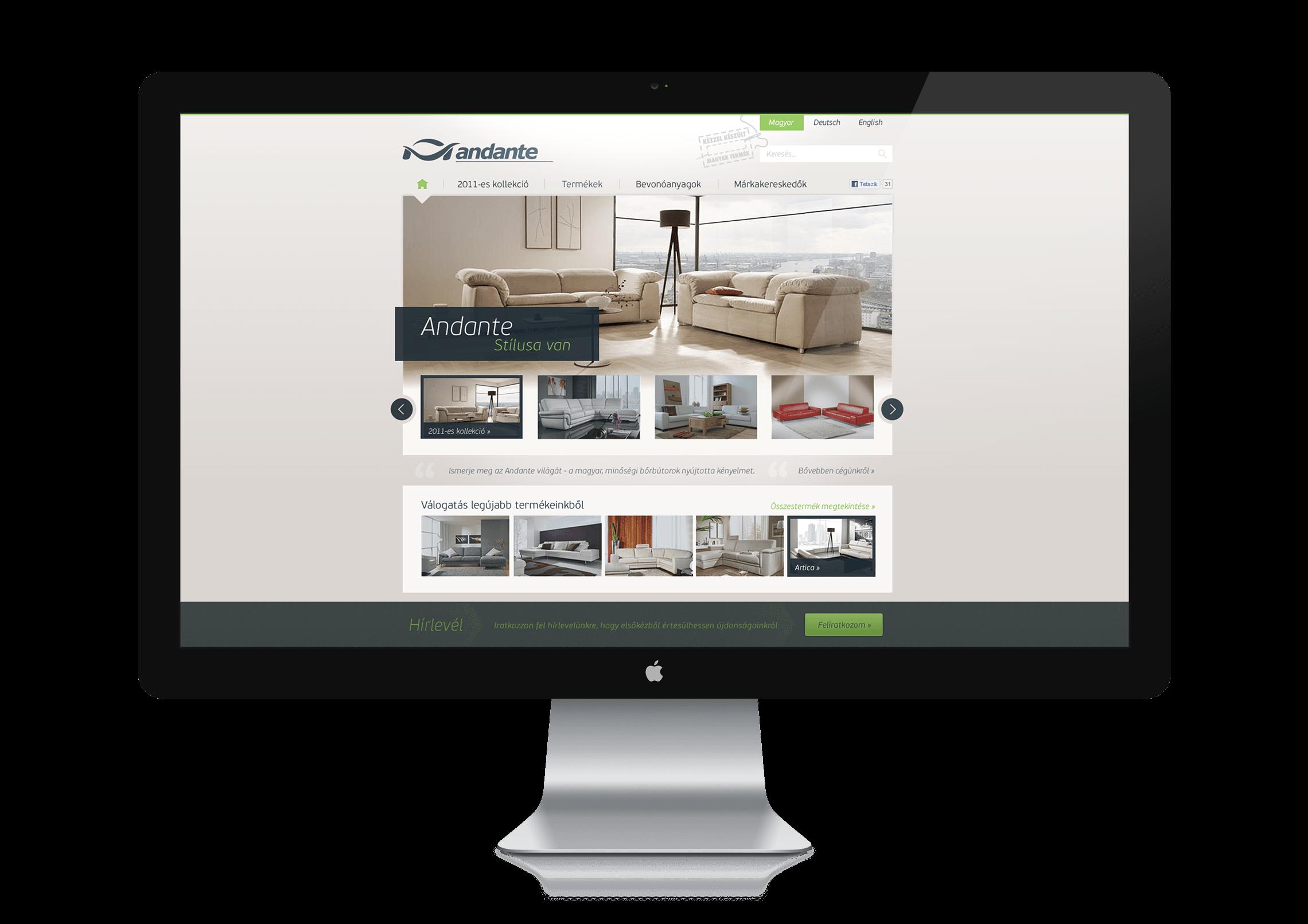 Webdesign - Andante